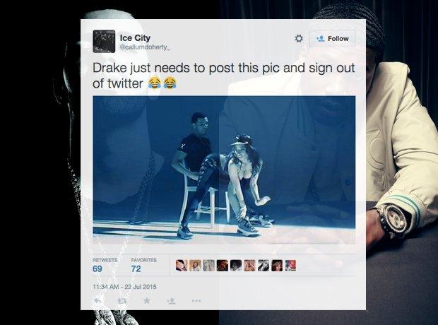 Drake Meek Mill Best Tweets