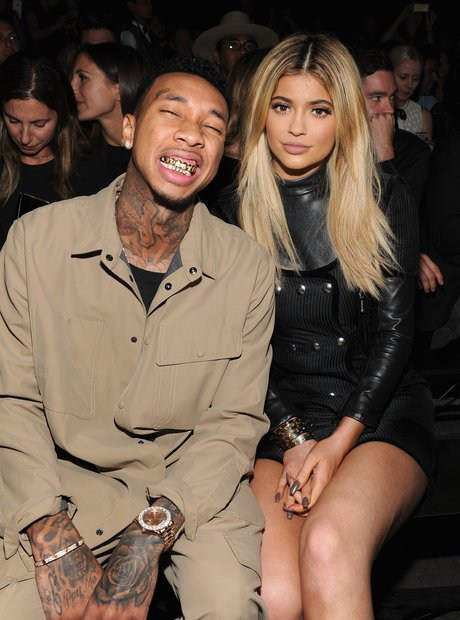 Tyga and Kylie Jenner New York Fashion Week