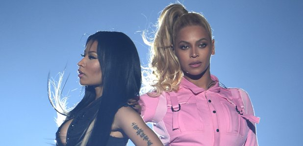 Nicki Minaj and Beyonce TIDAL X: 1020