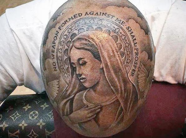 YG Head Tattoo