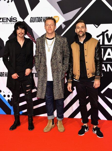 Macklemore MTV EMA's 2015 Red Carpet