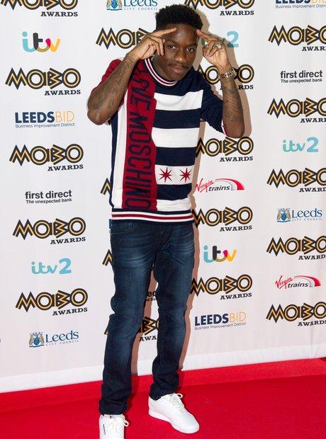 Tinchy Stryder MOBO Awards 2015 2
