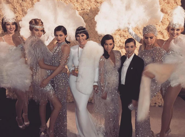 Kris jenner celebrated turning 60 this week with an epic great gatsby