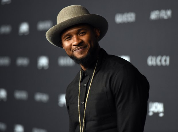 Usher attends the LACMA Art + Film Gala in LA