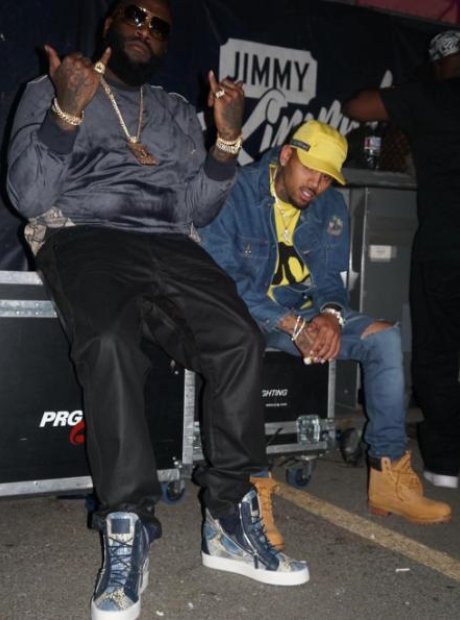 Chris Brown Rick Ross