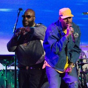 Rick Ross and Chris Brown
