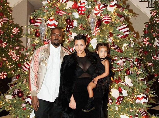 Kardashian Christmas party 2015