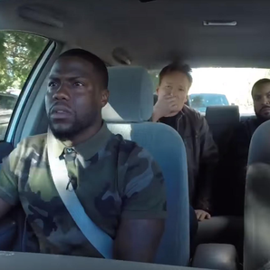 Kevin Hart and Ice Cube learner driver