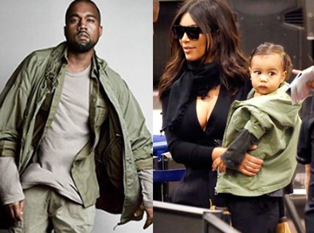Kanye West North West Green