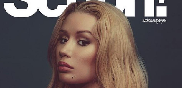 Iggy Azalea on the cover of Schon! Magazine