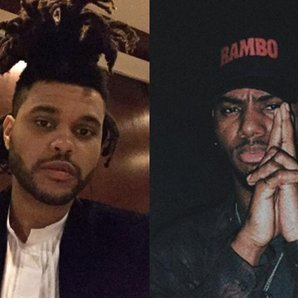 The Weeknd and Bryson Tiller