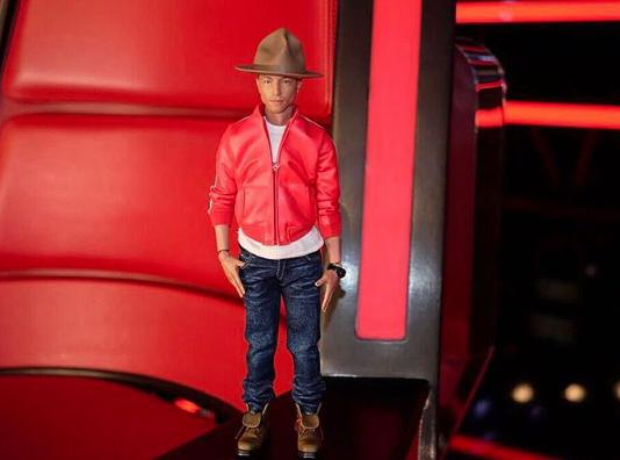 Pharrell Action Figure