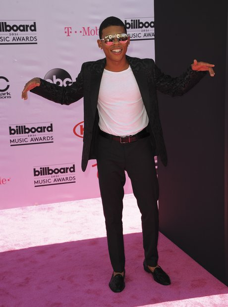 Bryshere Y. Gray on the red carpet