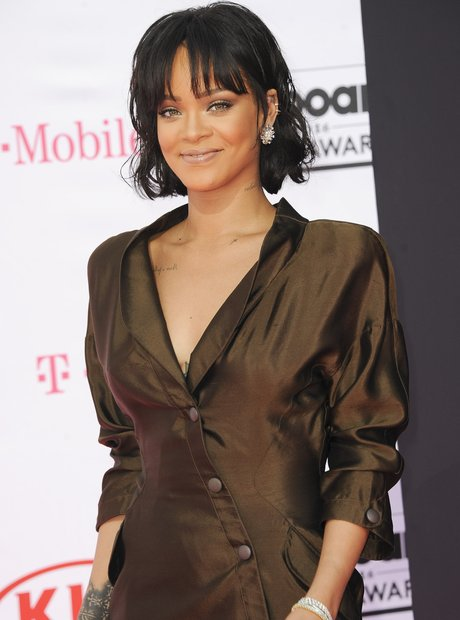 Rihanna on the red carpet