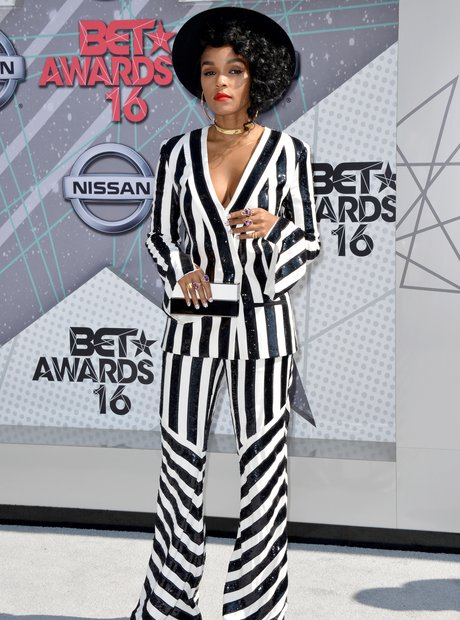 Janelle Monae at the BET Awards 2016