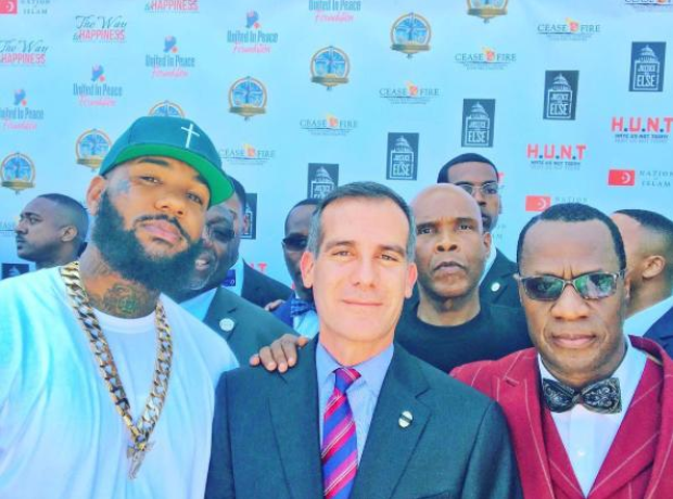 The Game and LA Mayor
