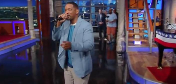 Will Smith performing Summertime