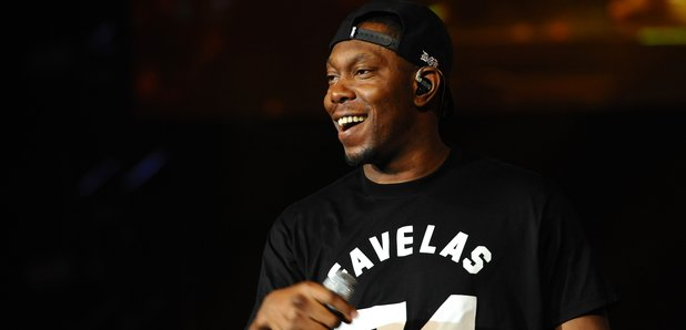 Dizzee Rascal on stage