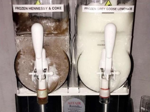 Kanye West Frozen Alcohol Rider