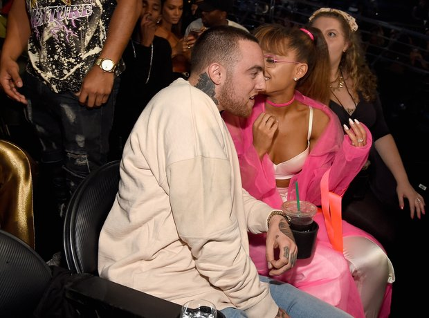 Mac Miller and Ariana Grande MTV VMAs 2016