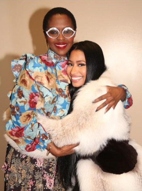 Nicki Minaj and Lauryn Hill