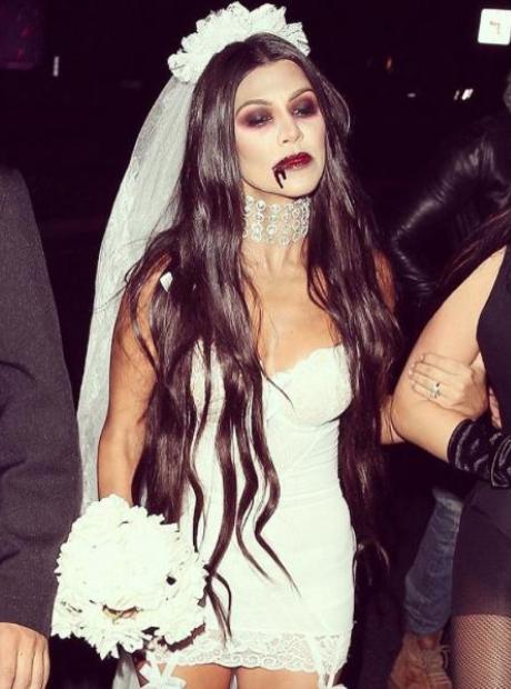 Kourtney Kardashian Halloween