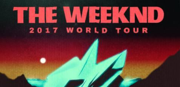 The Weeknd Starboy Tour Poster