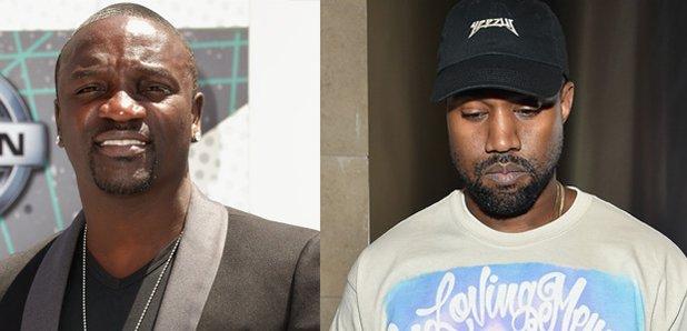 Akon Kanye West