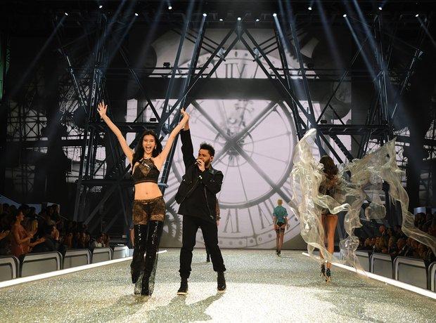 The Weeknd VS Fashion Show