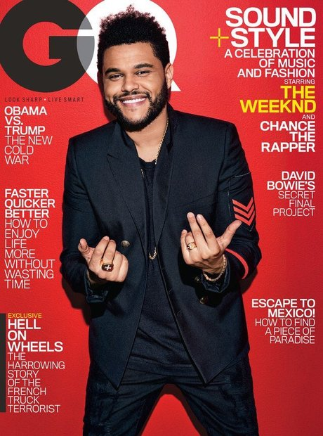The Weeknd GQ Cover