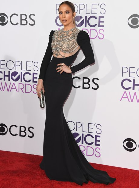 Jennifer Lopez stunned at the People's Choice Awar