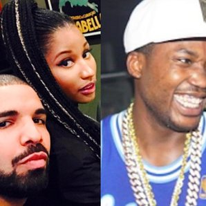 Drake Nicki Minaj Meek Mill