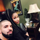 Image 5: Nicki Minaj with Drake on instagram