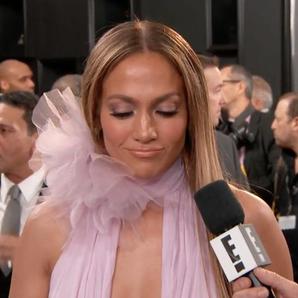 Jennifer Lopez Grammy Interview