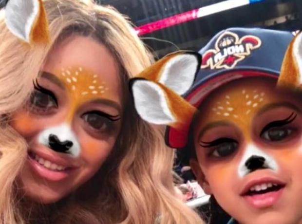 Beyonce Secret Snapchat