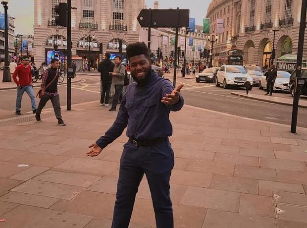 Khalid in London